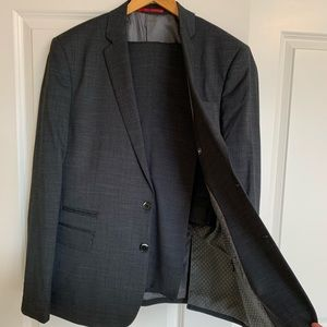 RW&CO Two Piece Suit in Steel Grey